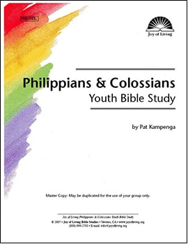 Colossians Inductive Bible Studies for Youth
