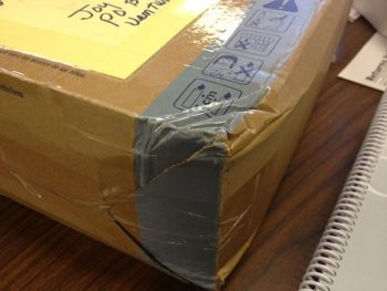 Damaged Package 3